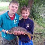 Rybářský kroužek + závody mládeže z Perné